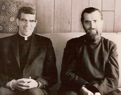 Fr. James Adams and Fr. Nagosky, 1960
